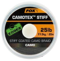 Fox Návazcová Šňůrka Edges Camotex Stiff 20 m
