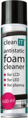 CLEAN IT antistatická čistící pěna na obrazovky, 400ml