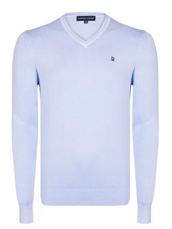 Giorgio Di Mare moški pulover, XXL, svetlo moder