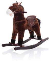 ZOPA koń na biegunach, ciemnobrązowy Twinkie