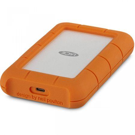 LaCie vanjski tvrdi disk 4TB Rugged 2,5'', USB-C 3.1