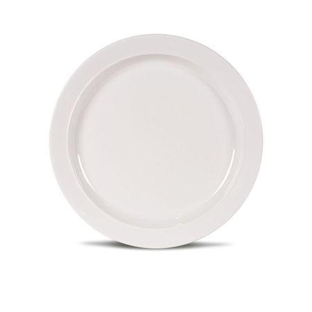 Kampa krožnik Non-Slip, bel, mali, 21,5 cm