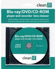 CLEAN IT Čistiace CD pre Blu-ray/DVD/CD-ROM prehrávače CL-320