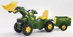 Rolly Toys Šlapací traktor Farmtrac John Deere s vlečkou