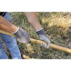 Verdemax Zahradní rukavice v PU + polyester, velikost L