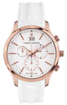 Chrono Diamond pánské hodinky 12000F Herrenuhr Okeanos