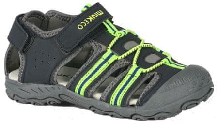 Wink Chlapecké sandály, černá, vel. 24 - použité
