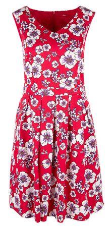 s.Oliver dámské šaty 42 červená