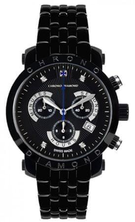 Chrono Diamond pánské hodinky 10600G Herrenuhr Nestor