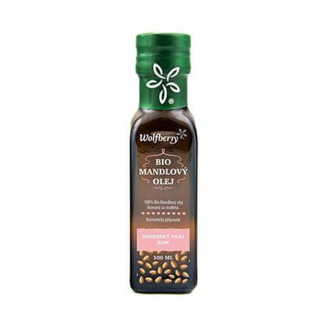 Wolfberry Mandlový olej BIO 100 ml