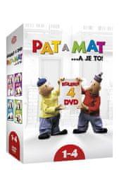 Pat a Mat 1-4 (4DVD) - DVD