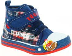 V+J fiú boka tornacipő hajóval