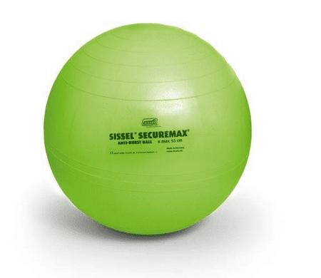 Sissel žoga za vadbo Securemax Exercise Ball, 75 cm, zelena