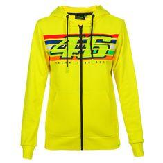 Valentino Rossi VR46 Stripes ženska jopica s kapuco