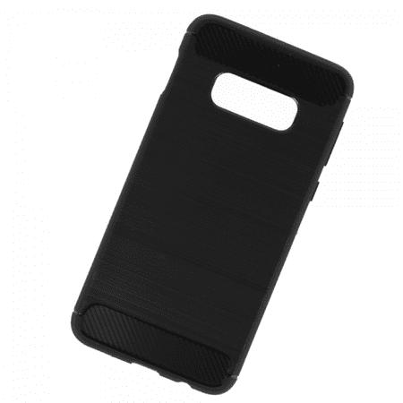maska za Samsung Galaxy S10 Plus G975, mat carbon crni, silikonski