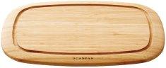 SCANPAN Lopárik drevený 35 x 26 x 2 cm bambus