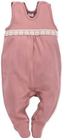 PINOKIO dekliški pajac Petit Lou, 56, roza