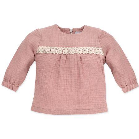 Pinokio Lány pulóver Petit Lou 68 rózsaszín