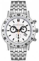 Chrono Diamond pánské hodinky 11600A Herrenuhr Hektor Stahl