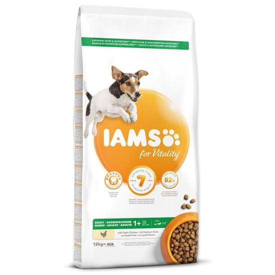 IAMS Dog Adult Small&Medium Chicken 12 kg