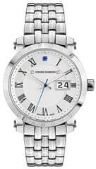 Chrono Diamond dámské hodinky 10620A Herrenuhr Nestorius Stahl