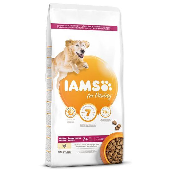 IAMS Dog Senior Large Chicken 12 kg
