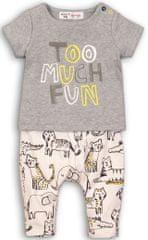 Minoti chlapčenský set trička a nohavíc