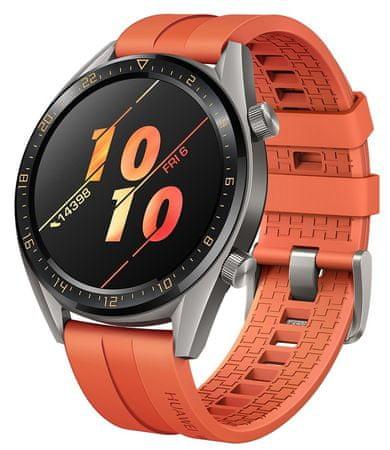 Huawei pametna ura Watch GT Active, oranžna