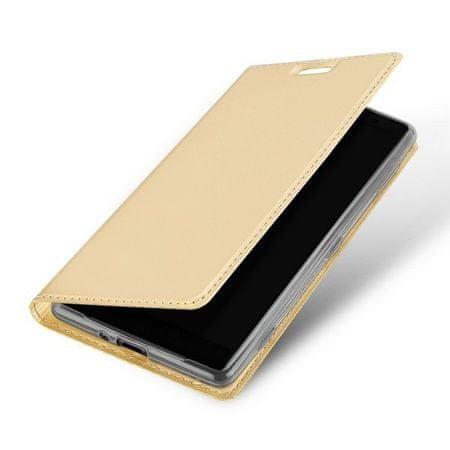 preklopna torbica Samsung Galaxy S10 Plus G975, zlata