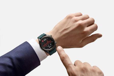 Chytré hodinky Huawei Watch GT Active, stylový design, barvy, nastavitelný ciferník, velká výdrž, voděodolné