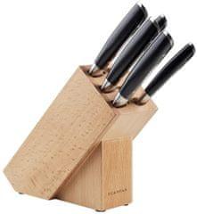 SCANPAN 6-dielna sada - 5x nože a blok na nože