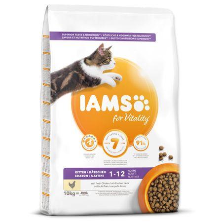 IAMS Cat Kitten Chicken 10 kg