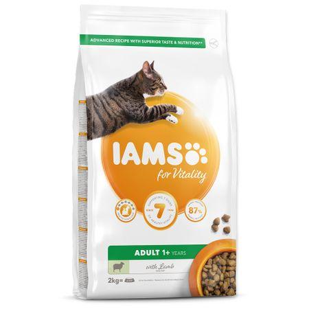 IAMS hrana za mačke Cat Adult Lamb, 2 kg