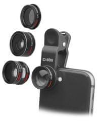 SBS Fotografické šošovky s kamerou pre smartfóny