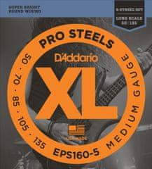 Daddario EPS160-5 Struny na päťstrunovú basgitaru