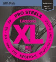 Daddario EPS170-5 Struny pro pětistrunnou baskytaru