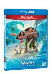 Odvážná Vaiana: Legenda o konci světa 3D+2D (2 disky) - Blu-ray