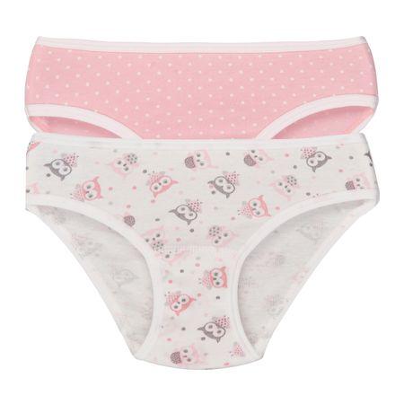Garnamama lány bugyi szett 98 - 104 fehér/rózsaszín