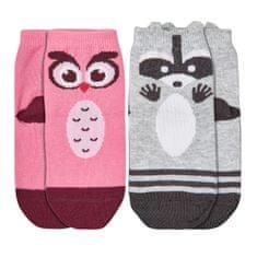 Garnamama dievčenský set dvoch párov ponožiek