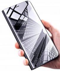 Clear View maska za Huawei Mate 20 Lite, crna