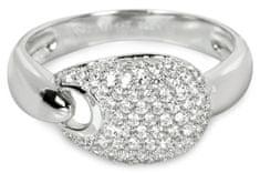 Silver Cat Srebrni prstan s kristali SC106 srebro 925/1000