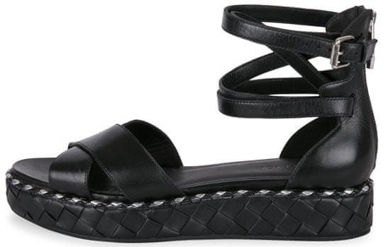 What For dámské sandály 40 černá