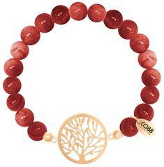 CO88 Achátový náramok so stromom života 865-180-080017-0000