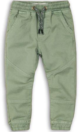 Minoti chlapčenské nohavice 98/104 zelená