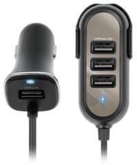 Forever ładowarka samochodowa dla pasażerów 4× USB 5,8 A PC-01 GSM036169