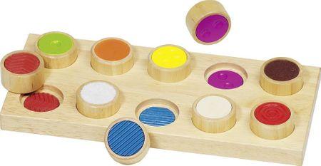 Goki Tapintható játék - különböző felületek