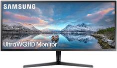 """Samsung monitor S34J550WQR, 86,7 cm (34,1""""), 3440 x 1440, ULTRA WQHD, sivi"""