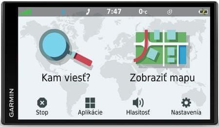 Garmin nawigacja samochodowa DriveSmart 65 MT-D EU (45 krajów)