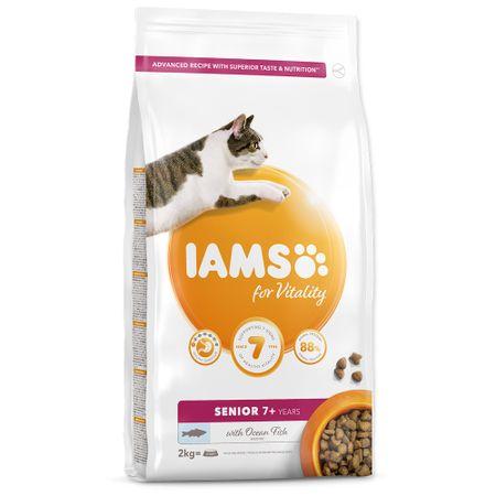 IAMS Cat Senior Ocean Fish 2 kg