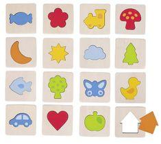Goki Hmatová hra - poznaj tvar v rámčeku